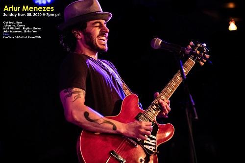 Artur Menezes Band - Sunday, April 25, 2021