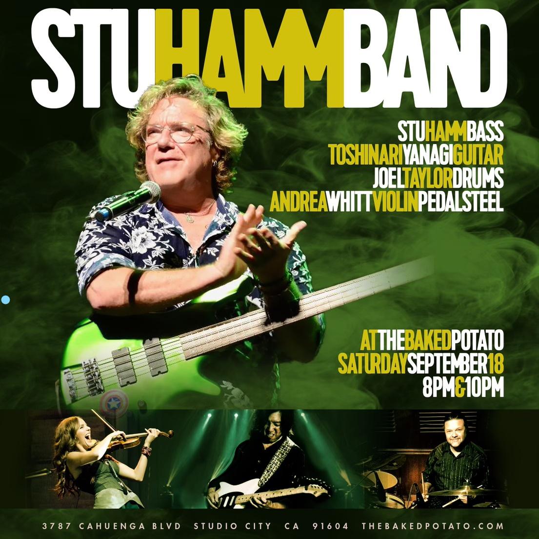 STU HAMM BAND - Saturday, September 18, 2021