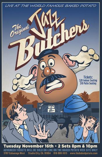 The Jazz Butchers - Tuesday, November 16, 2021