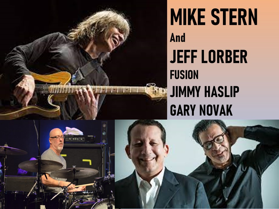 MIKE STERN and LORBER FUSION - Saturday, December 11, 2021